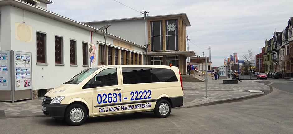 Taxi Mietwagen Neuwied Bahnhof